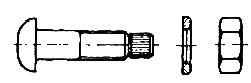 śruba sześciokątna do połączeń sprężanych i konstrukcji stalowych